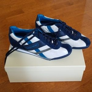 NWT * Original * Box * Blue/White * Coach * Shoe